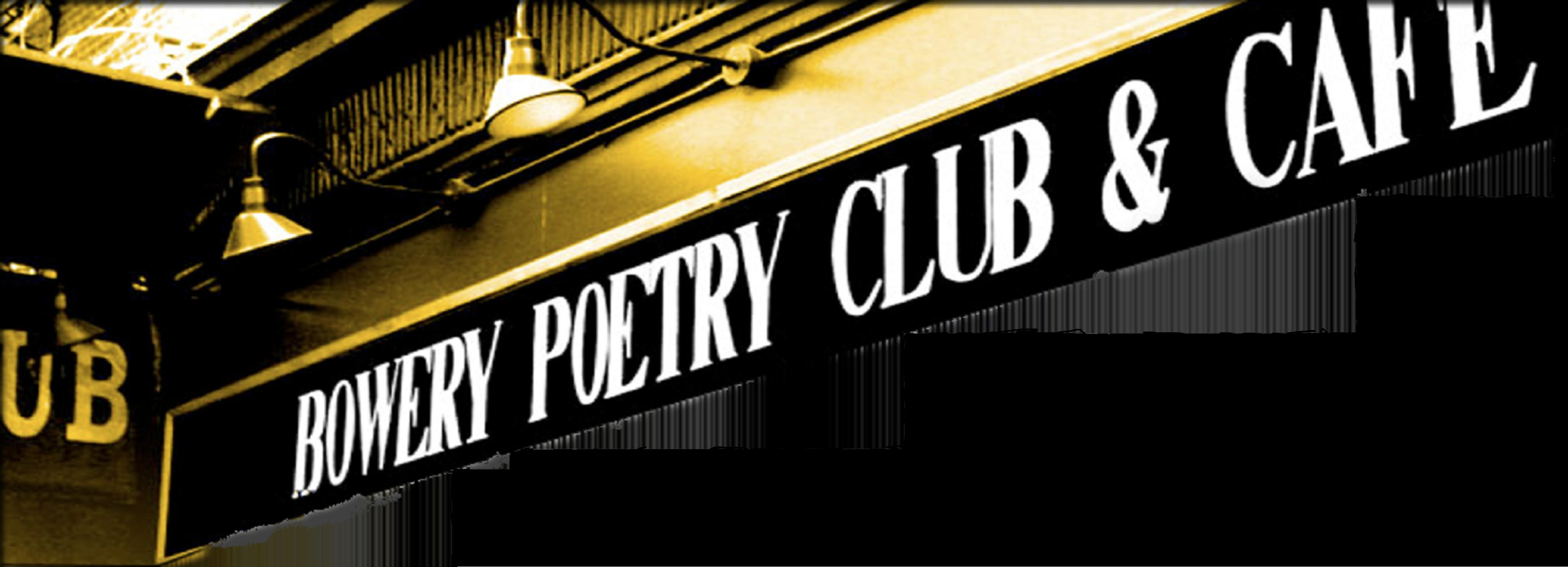 Bowery Poetry Live